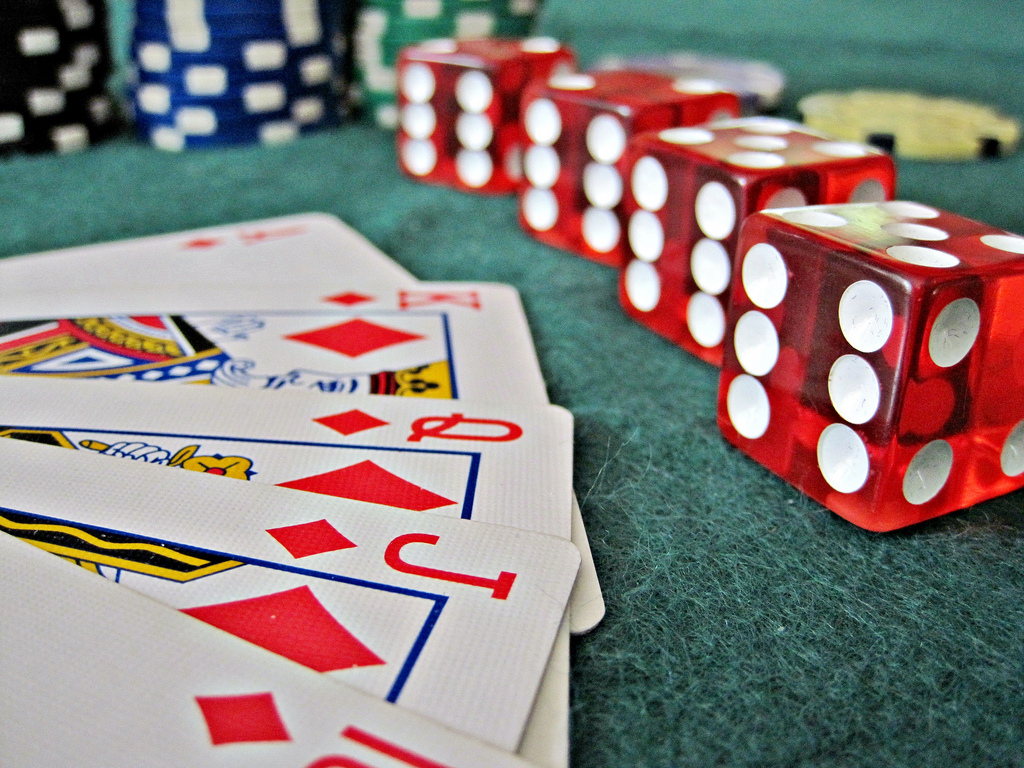 risk dice photo