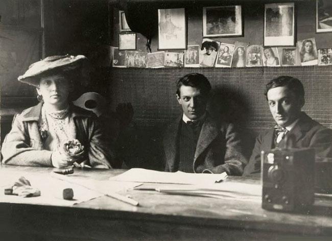 Pablo-Picasso-prima-sa-iubire-Fernande-Olivier-Ramon-Raventos-Barcelona-1906