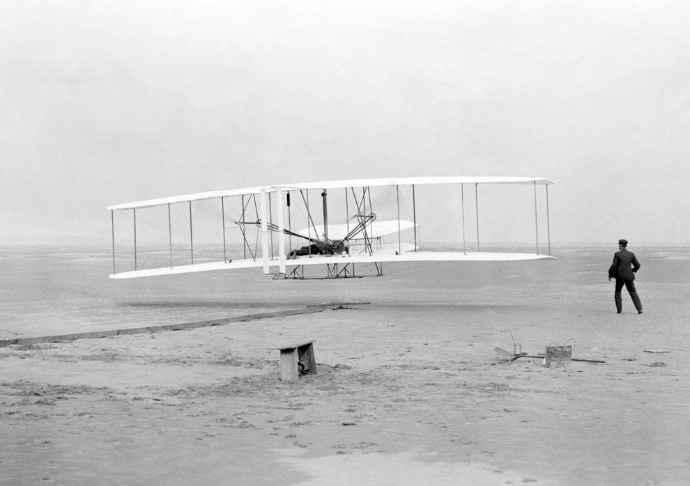 Primul-zbor-al-fratilor-Wright-1903