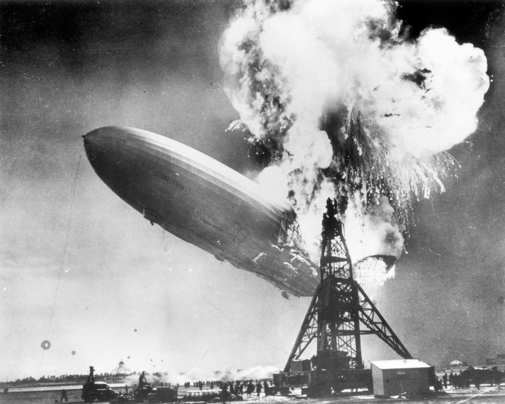 accidentul-dirijabilului-Hindenburg-1937