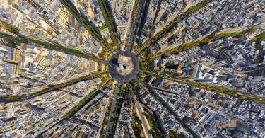 arca-de-triumf-paris-franta-fotografie-aeriala