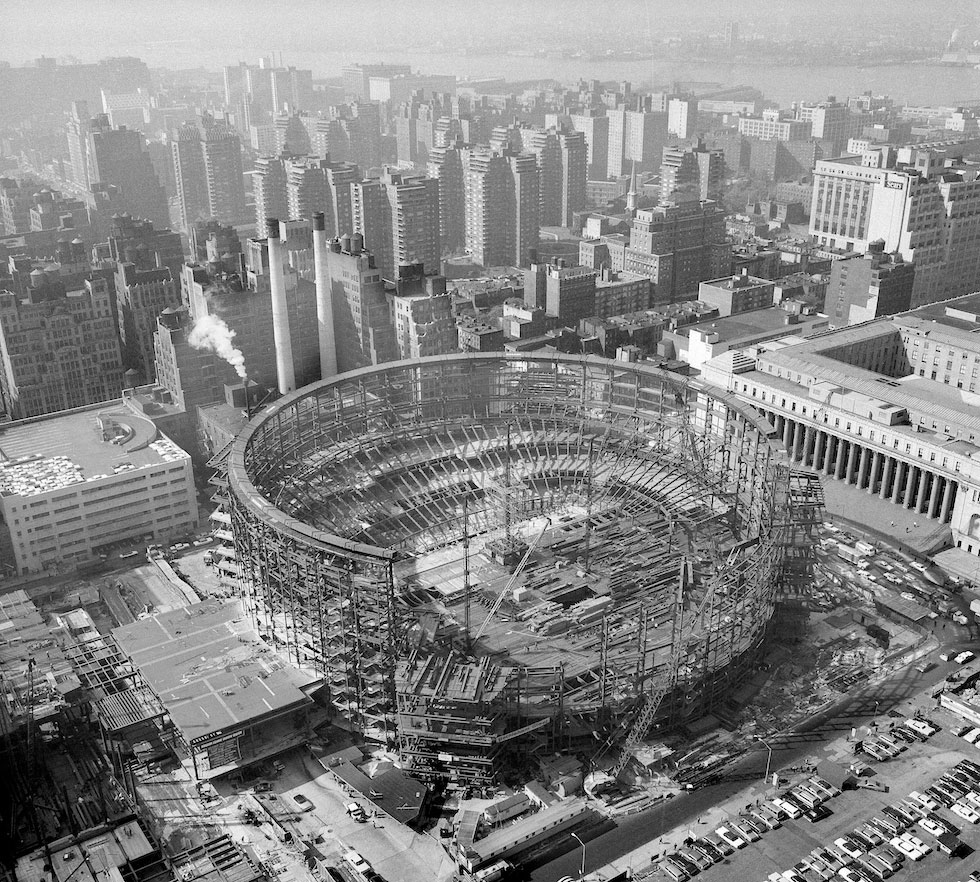 constructia-Madison-Square-Garden-1966