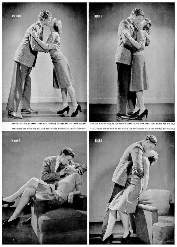 cum-de-sarutat-revista-life-1942