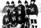 echipa-hochei-1922-svastica