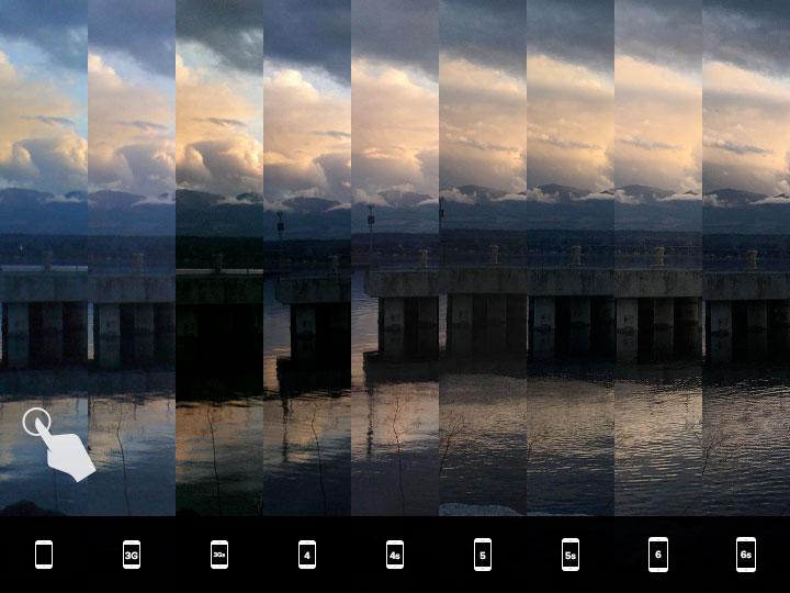 evolutia-camerei-iphone-13-fotografierea-apusului