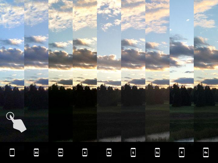 evolutia-camerei-iphone-17-fotografierea-apusului-lumina-slaba