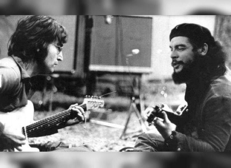 fals--John-Lennon-Che-Guevara-canta-la-chitari