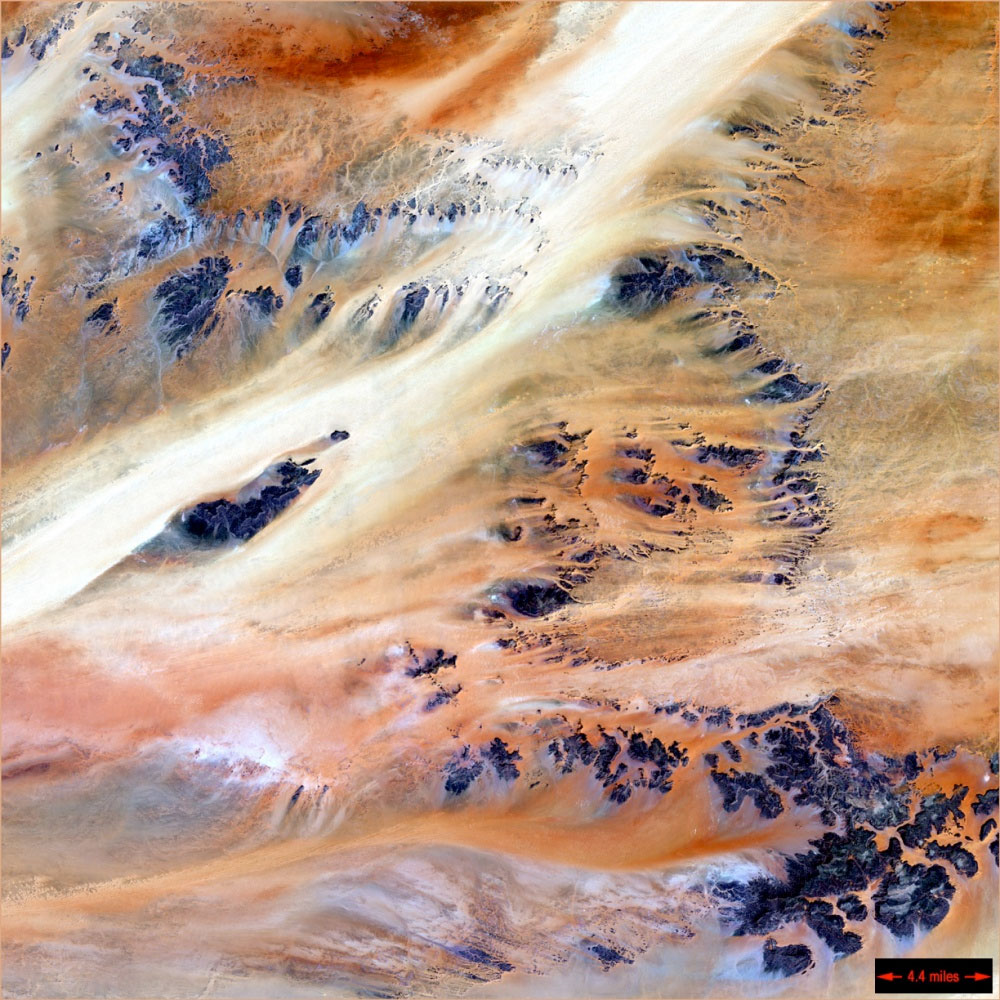 fotografie-satelit-republica-ciad-africa