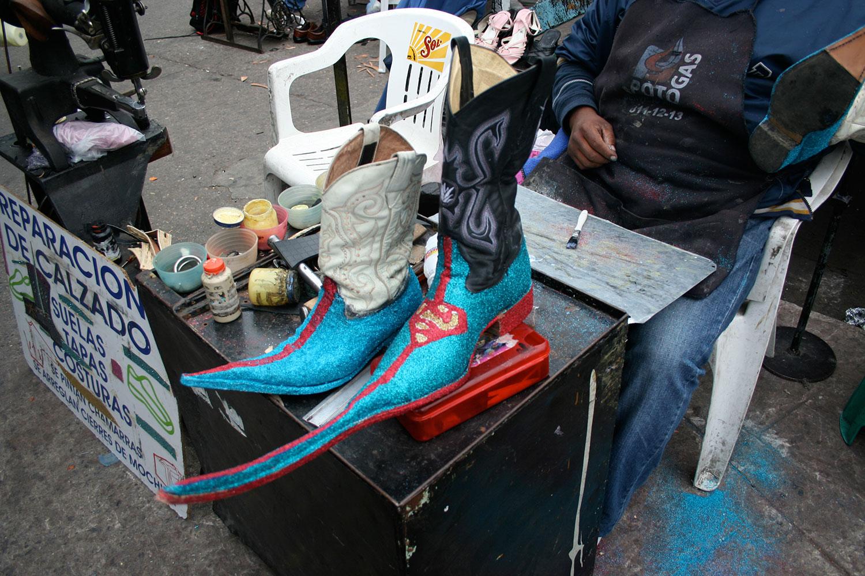 Încălțămintea mexicană cu bot ascuțit Guarachero