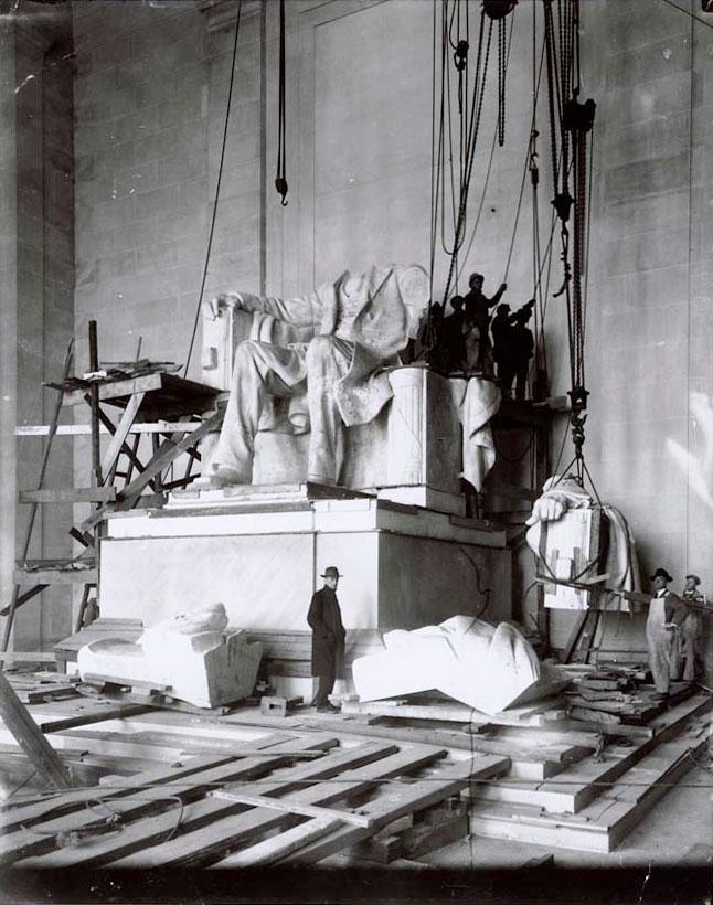 instalarea-Lincoln-Memorial-1920