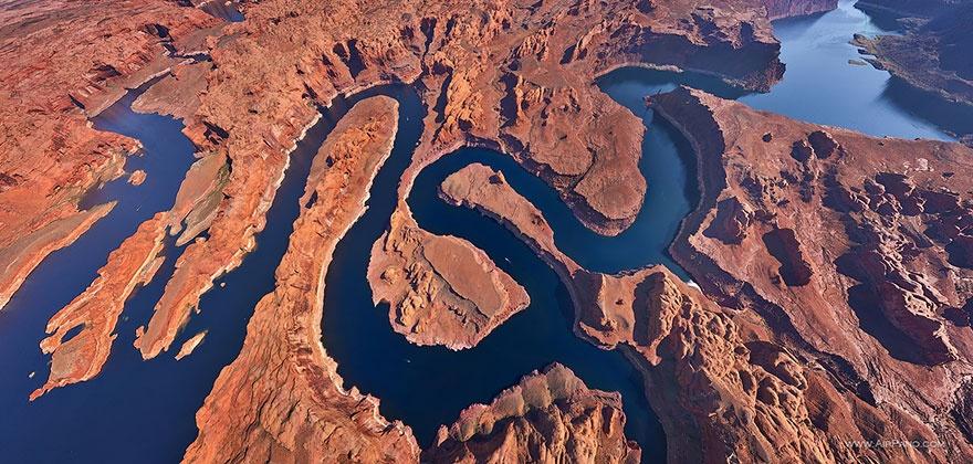 lacul-powell-fotografie-aeriana