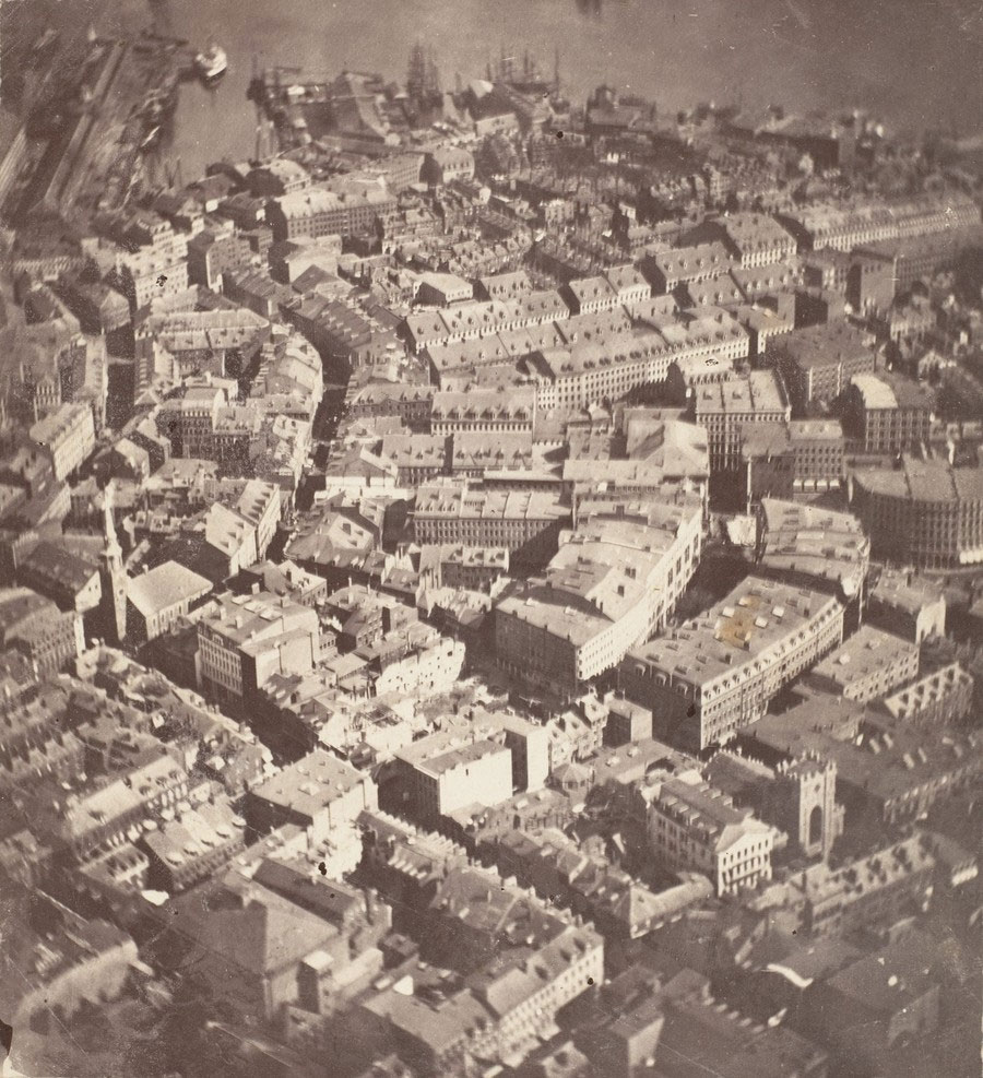 prima-fotografie-aeriana-boston-1860-james-black