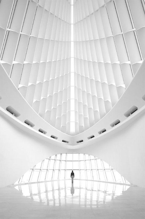 Pavilionul Quadracci, arhitector Santiago Calatrava