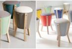 scaune-din-caldari-de-metal