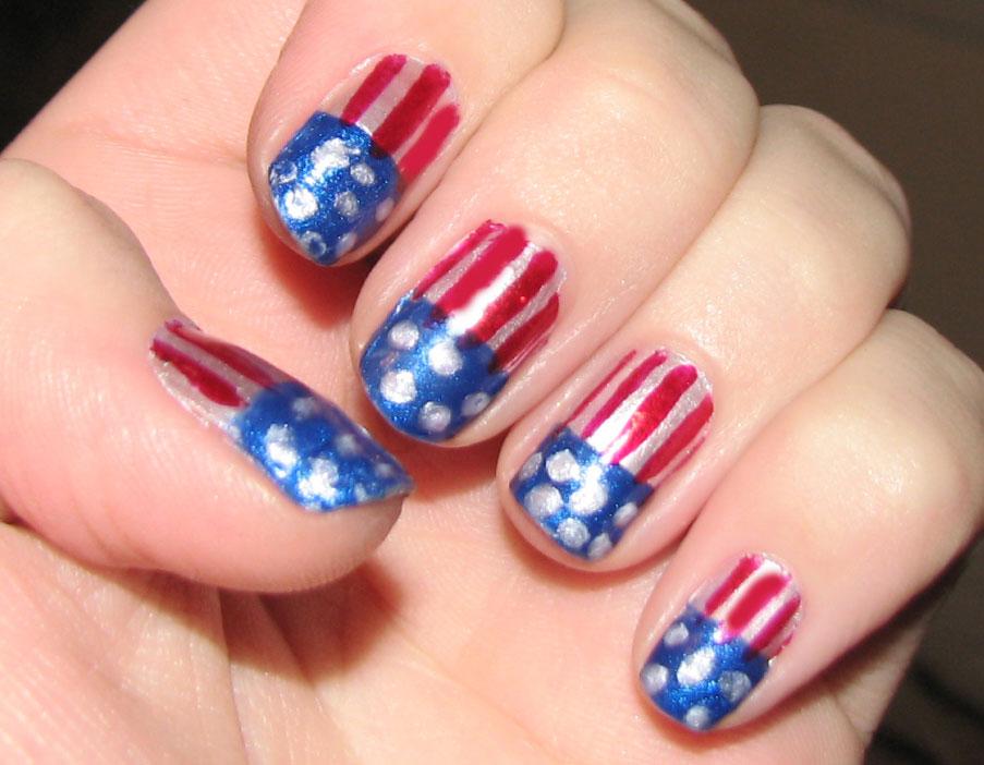 unghii-vopsite-flag-american