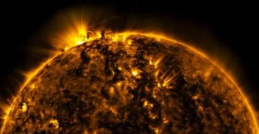 Foto soare HD (NASA SDO) 2015