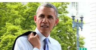 O plimbare neașteptată a președintelui Barack Obama