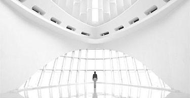 Pavilionul Quadracci, arhitector Santiago Calatrava, fotografie de Nick Kessler